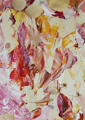 Dried Mixed Media - Floral Flutter by Nancy Kane Chapman