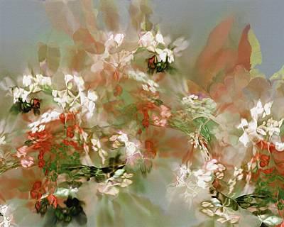 Digital Art - Floral Fractal 030713 by David Lane