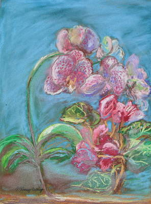 Palo Cedro Painting - Floral Freedom by Patricia Kimsey Bollinger