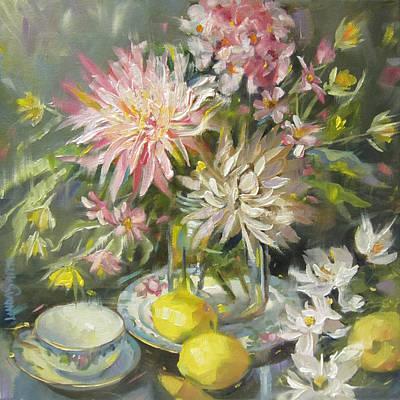 Floral Frenzy Original by Linda Smith