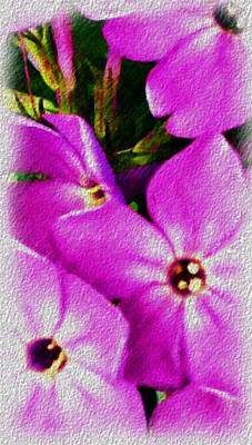 Digital Art - Floral Fun 012714 by David Lane