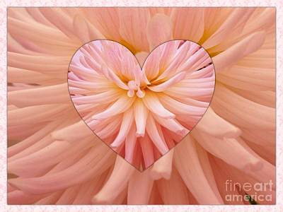 Photograph - Floral Heart by Joan-Violet Stretch