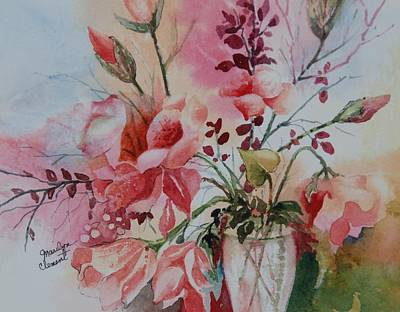 Painting - Floral by Marilyn  Clement
