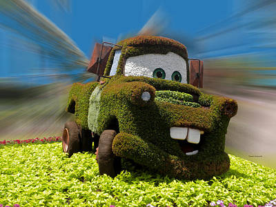 Floral Mater Art Print by Thomas Woolworth