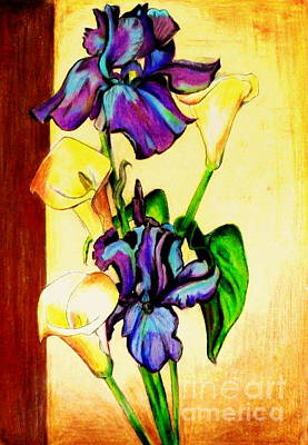 Painting - Floral by Mylene Le Bouthillier