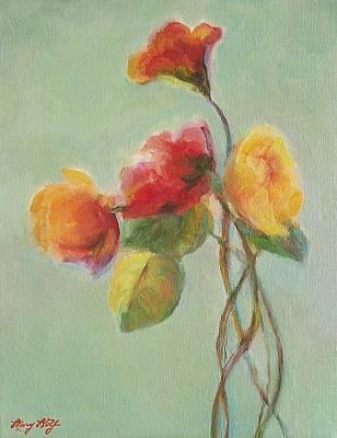 Floral Painting Art Print