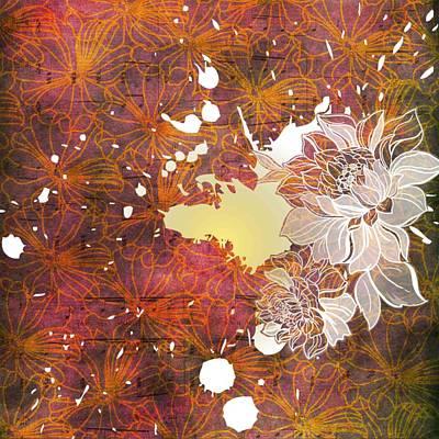 Digital Art - Floral Print by Ankeeta Bansal