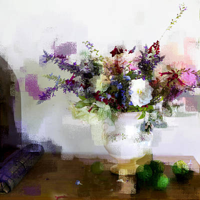 Art Print featuring the photograph Floral Still Life II by Linde Townsend
