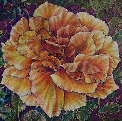 Painting - Floral Vibrance by Mary Knape
