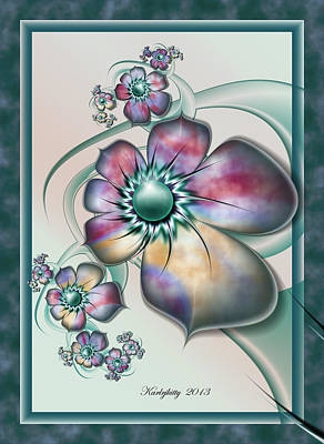 Digital Art - Floral Whimsy by Karla White