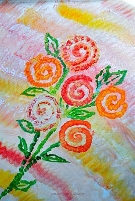 Floralen Traum Art Print