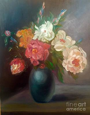 Painting - Florals by Irene Pomirchy