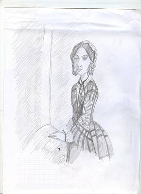 Drawing - Florence  by Archana Saxena