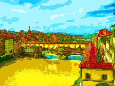 Florence Bridges 3 Art Print