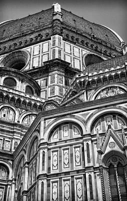 Photograph - Florence Cathedral And Brunelleschi's Dome by Melany Sarafis