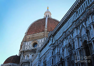 Photograph - Florence Cathedral by David Warrington
