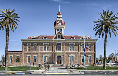 Photograph - Florence City Hall by Tom Zachman