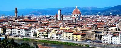 Photograph - Florence City View by Caroline Stella