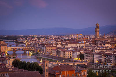 River Scenes Photograph - Florence Dawn by Brian Jannsen