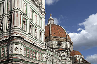 Medieval Temple Photograph - Florence Duomo by Al Hurley