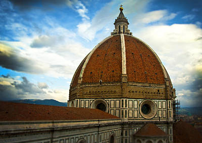 Photograph - Florence Duomo Italy by Pam  Elliott