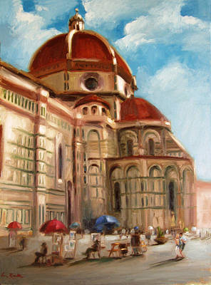 Painting - Florence by Erin Rickelton