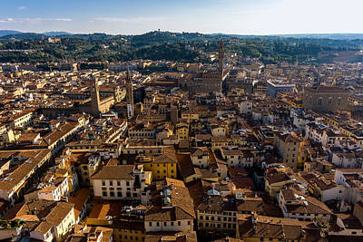 Photograph - Florence From The Duomo Rooftop by Carl Amoth