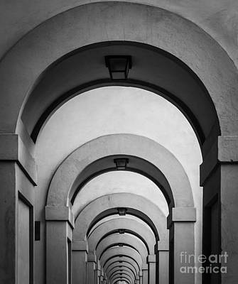 Florence Hallway Art Print by Inge Johnsson