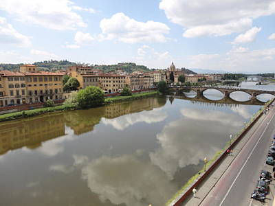 Photograph - Florence In Springtime by Artistic Indian Nurse