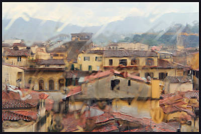 Photograph - Florence In The Rain by Oscar Alvarez Jr