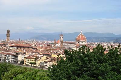 Eliso Digital Art - Florence - Italy by Eliso  Silva