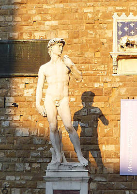 Photograph - Florence Italy Michelangelo David Replica by Irina Sztukowski