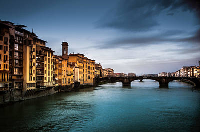 Photograph - Florence Italy by Mickey Clausen