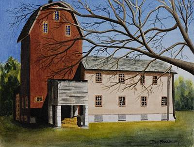 Painting - Florence Mill by Joy Bradley