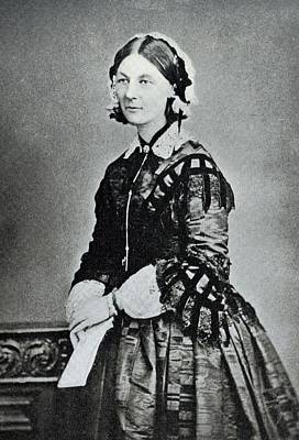 Nursing Photograph - Florence Nightingale by Library Of Congress