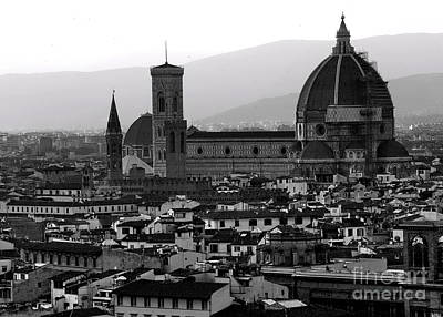 Photograph - Florence Panorama by Jacqueline M Lewis