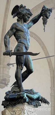 Photograph - Florence Perseus By Cellini by Gregory Dyer
