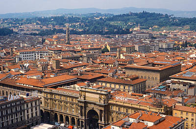 Photograph - Florence Rooftops by Stuart Litoff