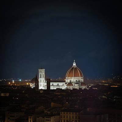 Photograph - Florence, Santa Maria Del Fiore by Deimagine