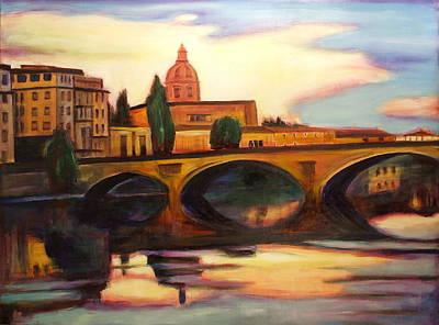 Florence Art Print by Sheila Diemert