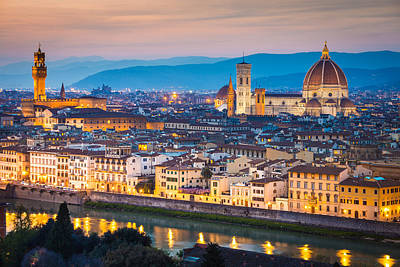 Florence Art Print by Stefano Termanini