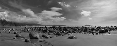 Ebbtide Photograph - Florencia Beach Low Tide by Allan Van Gasbeck