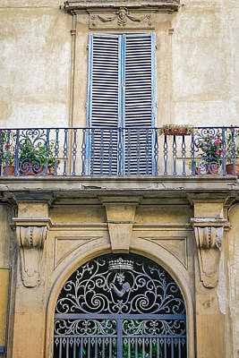 Photograph - Florentine Apartment by Karen Stephenson