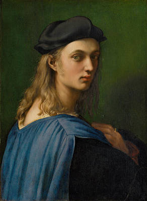 Banker Painting - Florentine Banker Bindo Altoviti  by Celestial Images