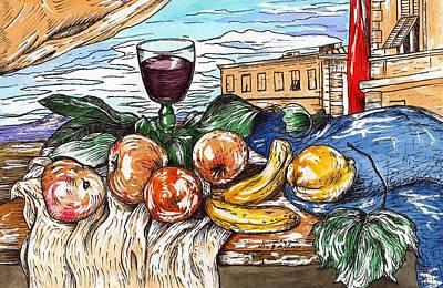 Painting - Florentine Still Life After Giorgio De Chirico by Joseph York