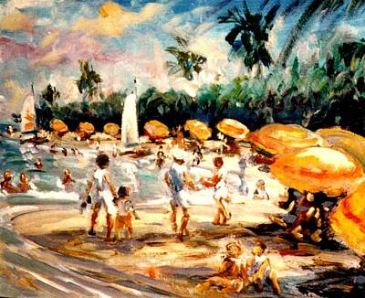Painting - Florida Beach by Philip Corley