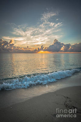 Day Break Photograph - Florida Beach Sunrise by Ian Monk