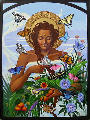 Zebra Swallowtail Painting - Florida Butterflies by Teri Tompkins
