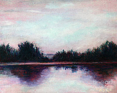 Painting - Florida Canal by Myra Maslowsky