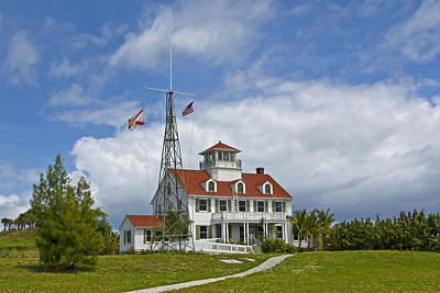 Florida Coast Guard Station Art Print